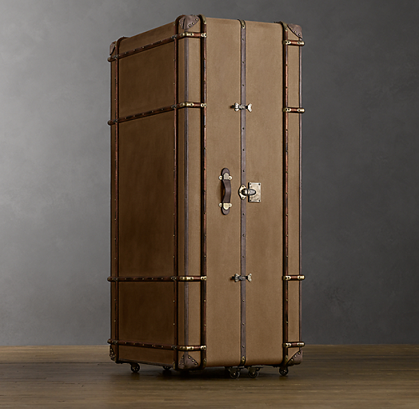 Richards' Canvas Secretary Trunk