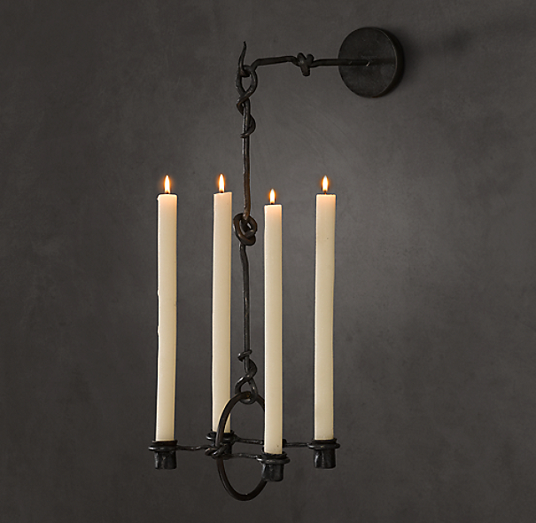 19th C. Belgian Candle Sconce