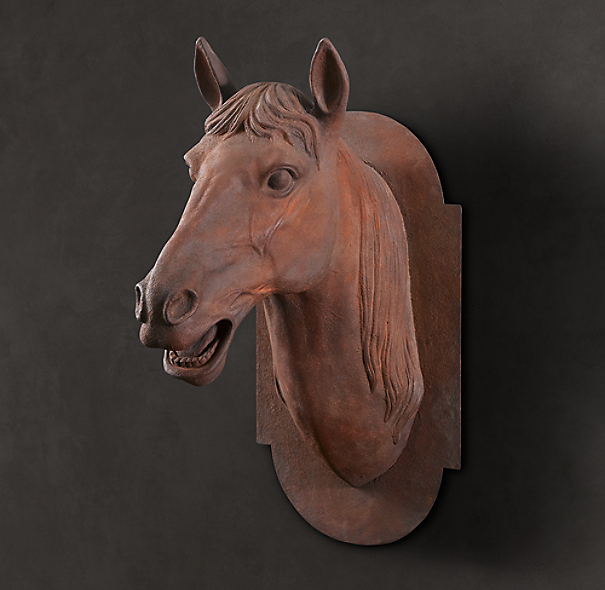 French Artifact Horse's Head