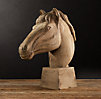 19th C. Realist Carved Horse Head
