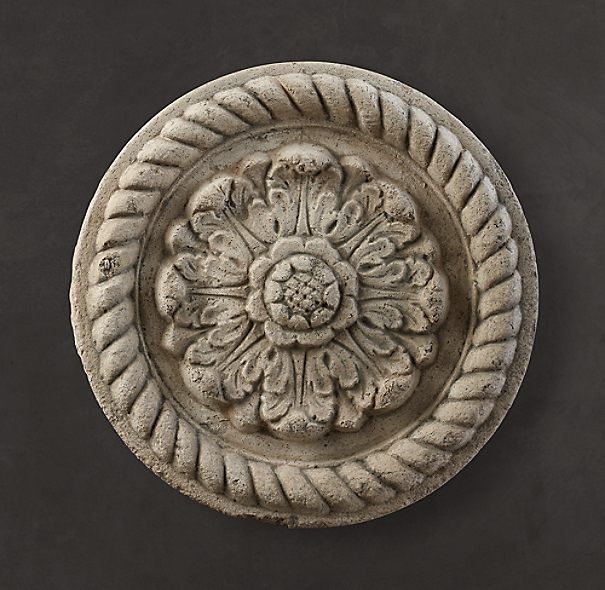 Architectural Plaster Fragments - Rosette