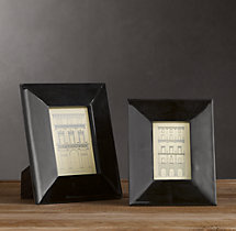 Beveled Horn Frames Black