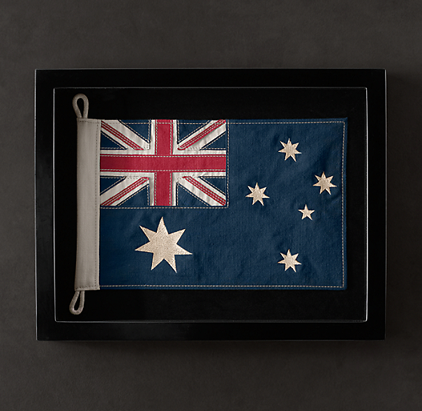 Framed Flag of Australia