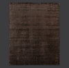 Heathered Wool Rug Swatch - Chocolate