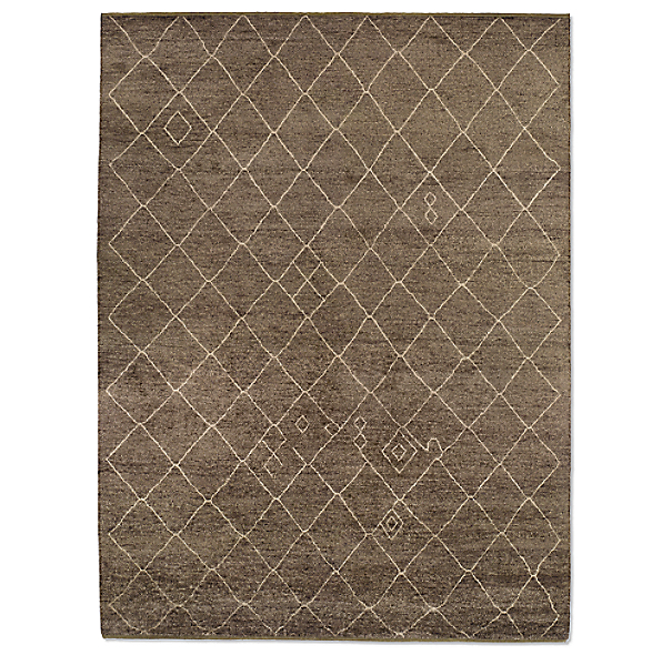 Miya  Rug Swatch - Chocolate