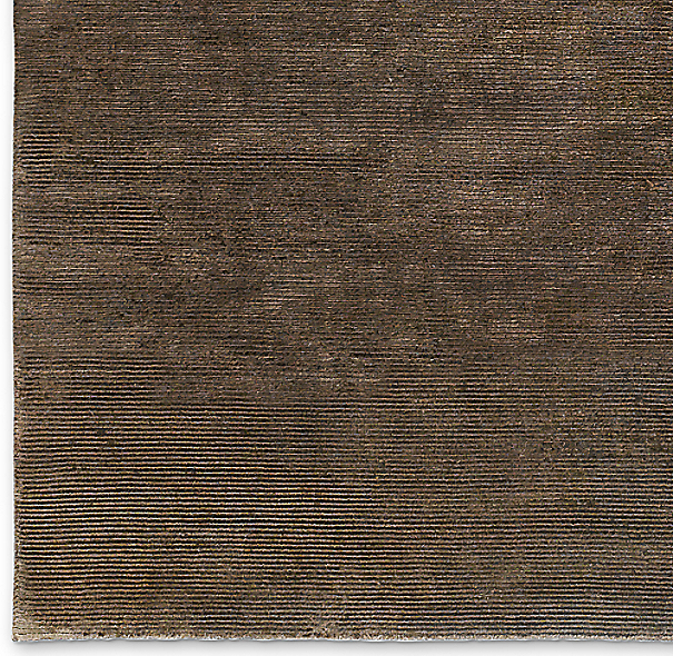 Textured Cord Rug Swatch - Chocolate