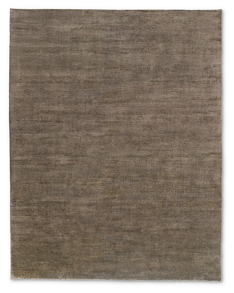 Textured Cord Rug - Chocolate