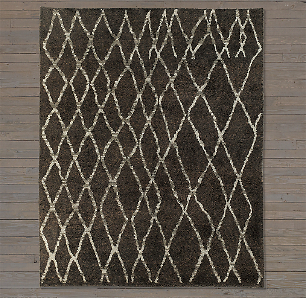 Talaa Rug Swatch - Grey