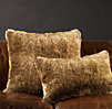 Luxe Faux Fur Pillow Covers - Coyote