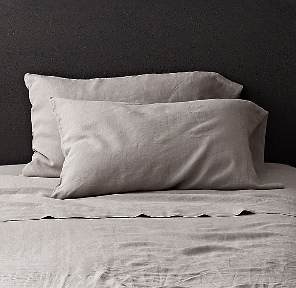 Stonewashed Belgian Linen Pillowcases (Set of 2)