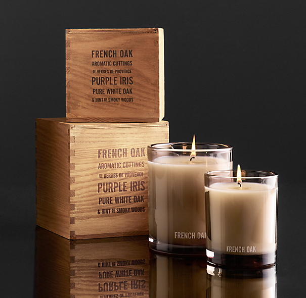 French Oak Filled Candle