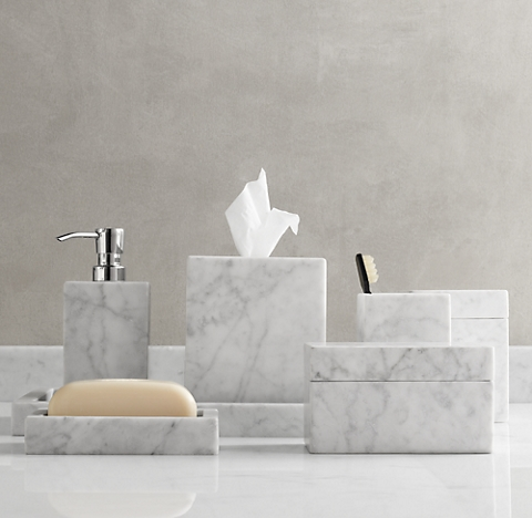 Countertop accessories rh - Restoration hardware bathroom accessories ...