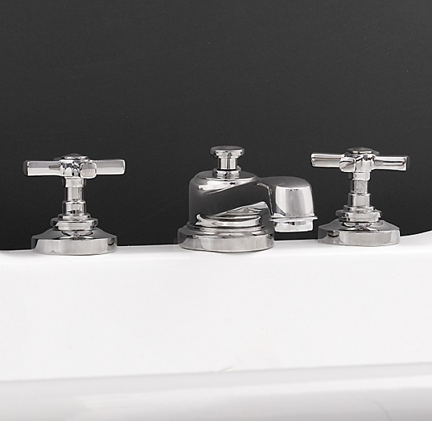 Grafton Deckmount Roman Tub Faucet Set