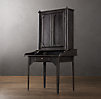 19th C. French Iron Secretary