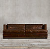 "7"" Easton Leather Sofa"