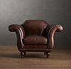 Regency Leather Chair