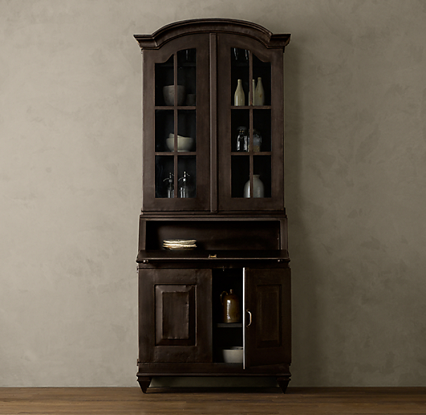 19th C. Swedish Brasserie Cabinet