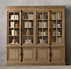 French Casement Wide Sideboard & Hutch