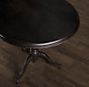 "32"" 18th C. French Tilt-Top Brasserie Side Table"