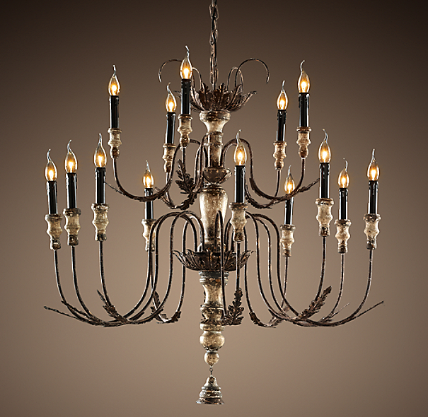 18th C. Bartolomeo Chandelier Small