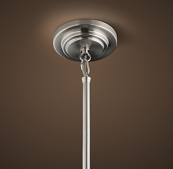 Two-Tier Round Shade Pendant