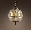 19th C. Casbah Crystal Chandelier Small
