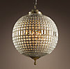 19th C. Casbah Crystal Chandelier Large