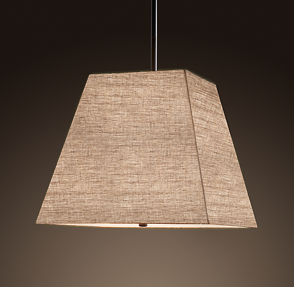 Square Shade Pendant