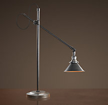 1900s Machinist Task Table Lamp