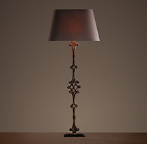 French Balcony Baluster Buffet Lamp