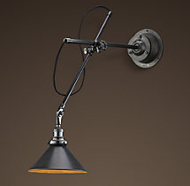 1900s Machinist Sconce