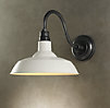 Vintage Barn Sconce Warm White