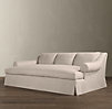 Belgian Roll Arm Slipcovered Daybed Sofa