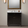 French Empire Single Vanity Sink