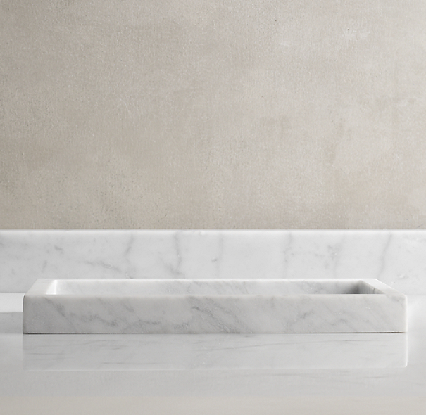 Carrara Marble  Tray
