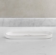 Le Bain French Porcelain Tray