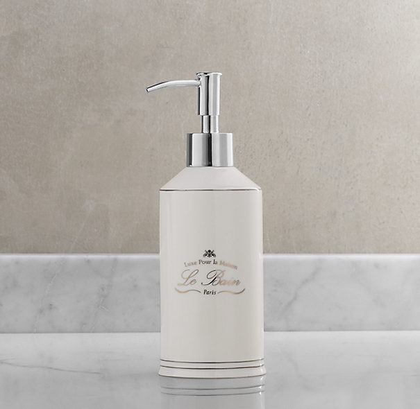 Le Bain French Porcelain Dispenser