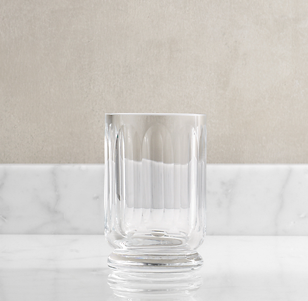 Faceted Glass Cup