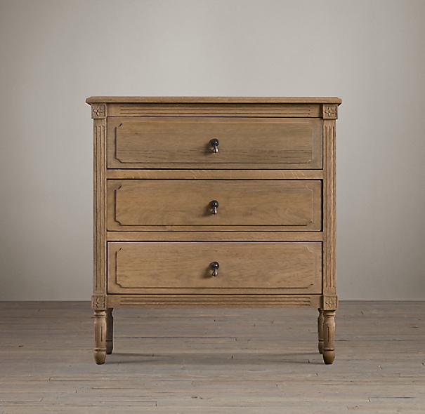 Restoration Hardware Louis Xvi Dresser: Louis XVI Closed Nightstand