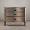 "38"" Empire Rosette Closed Nightstand"