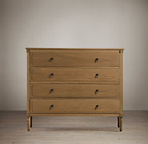 Louis XVI 4-Drawer Dresser