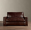 5' Maxwell Leather Sofa