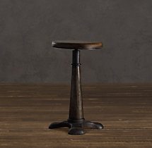 French Sewing Stool Table (Set of 2)