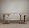 English 8-Balustrade Console Table