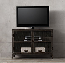 Industrial Tool Chest Media Console Small