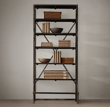 "42"" French Library Shelving"