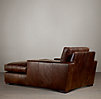 Maxwell Leather Chaise