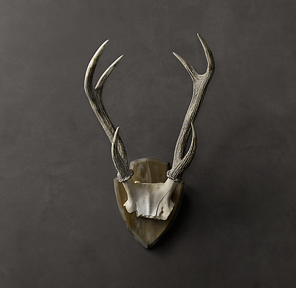 Deer Antlers in Cast Resin