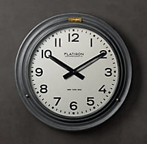Flatiron Hinged Clock