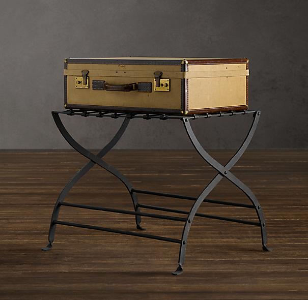 avignon metal luggage rack
